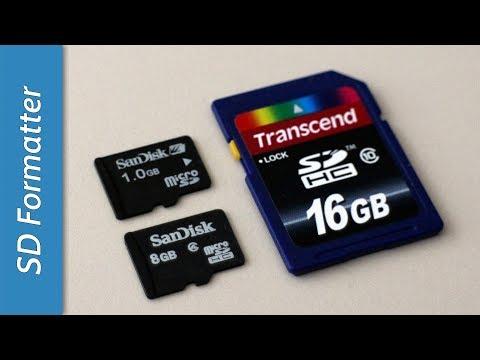 SD Formatter - Formattazione perfetta per tutte le SD Card