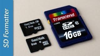 видео SDFormatter