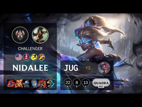 Nidalee Jungle vs Lillia - NA Challenger Patch 10.19