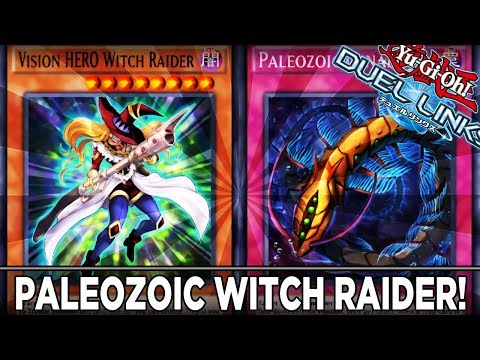 Paleozoic Witch Raider Deck! YuGiOh Duel Links PVP ShadyPenguinn