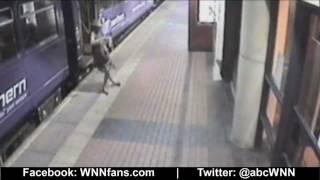 Drunk Woman Caught oฑ Camera