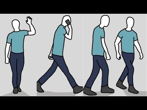 Surprising! But,the way you walk reveals your personality