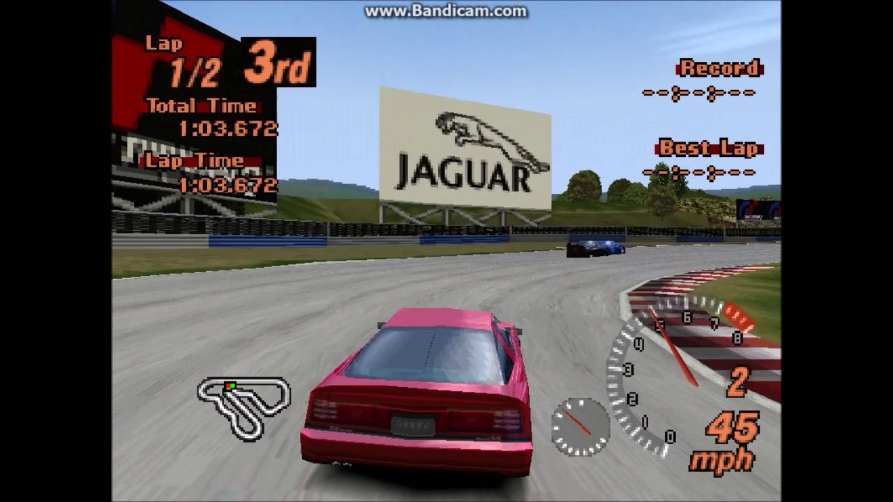 The Toyota Supra 3.0 GT Turbo Ltd. '93 (Toyota Supra (Turbo) '93) in Gran Turismo 2. Video by NoGoodNames4701. Gran Turismo 2 © 1999 Polyphony Digital, Sony.
