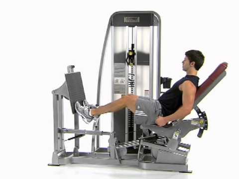 Bent Knee Leg Press Calf Raise - Cybex Eagle Leg Press ...