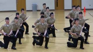 Floyd Central NJROTC Armed Exhibition Team 2018