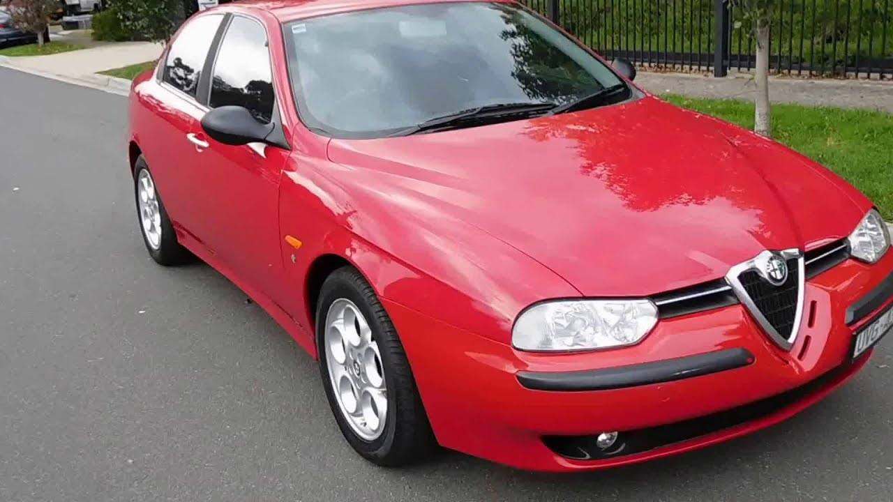 2002 alfa romeo 156 v6 manual youtube. Black Bedroom Furniture Sets. Home Design Ideas