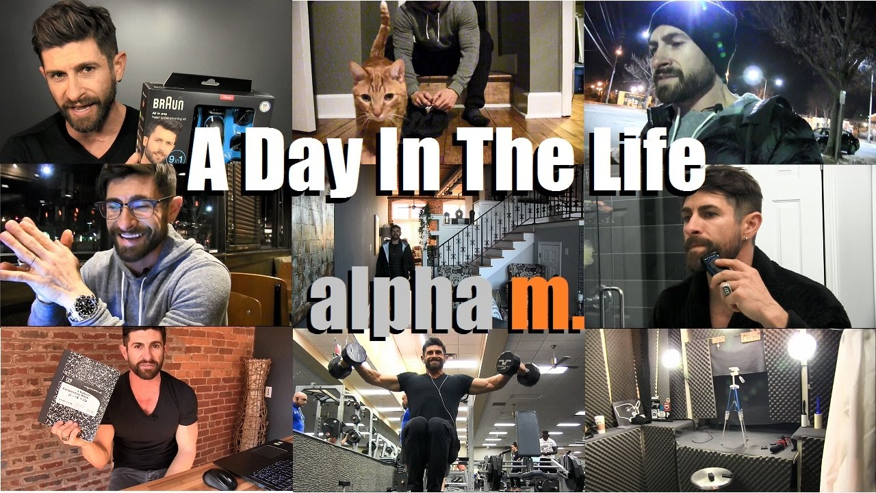 a day in the life of alpha m 24 hours with aaron marino youtube