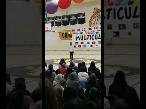 Park Jimin-Serendipity Dance Cover Performance - Edison Computech Middle School Multicultural Rally