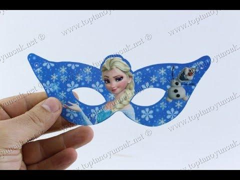 Toptan Fiyat Promosyon çocuk Doğum Günü Maske Frozen Elsa Ucuz