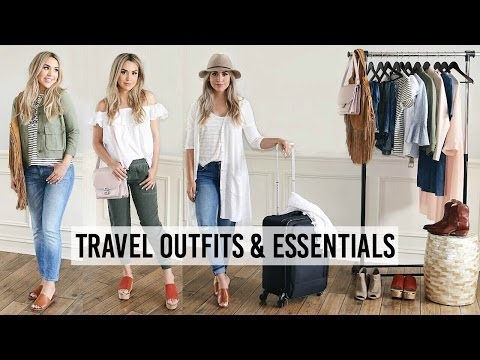 afacb7222a SUMMER TRAVEL OUTFITS + PACKING ESSENTIALS | ALEXANDREA GARZA - YouTube