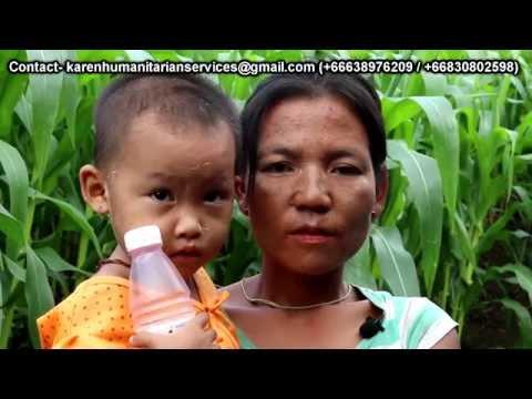 Karen Humanitarian Services (Volunteering Team) Video Report August 2016