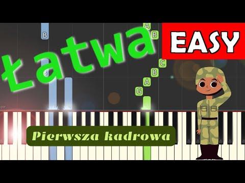 🎹 Pierwsza Kadrowa - Piano Tutorial (łatwa wersja) 🎹