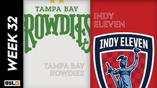 Tampa Bay Rowdies Vs.  Ndy Eleven October 12 2019