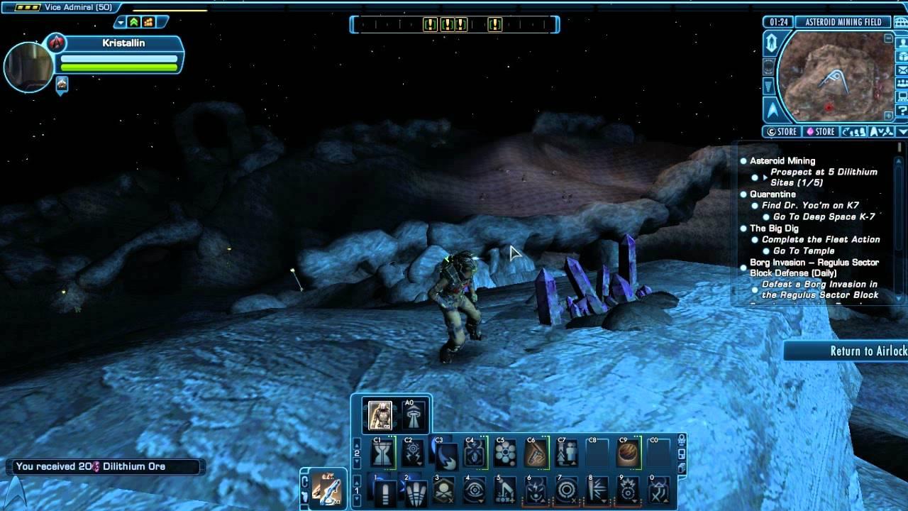 mine dilithium star trek fleet command