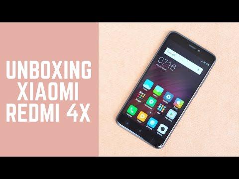Unboxing Xiaomi Redmi 4X - Garansi Resmi Indonesia