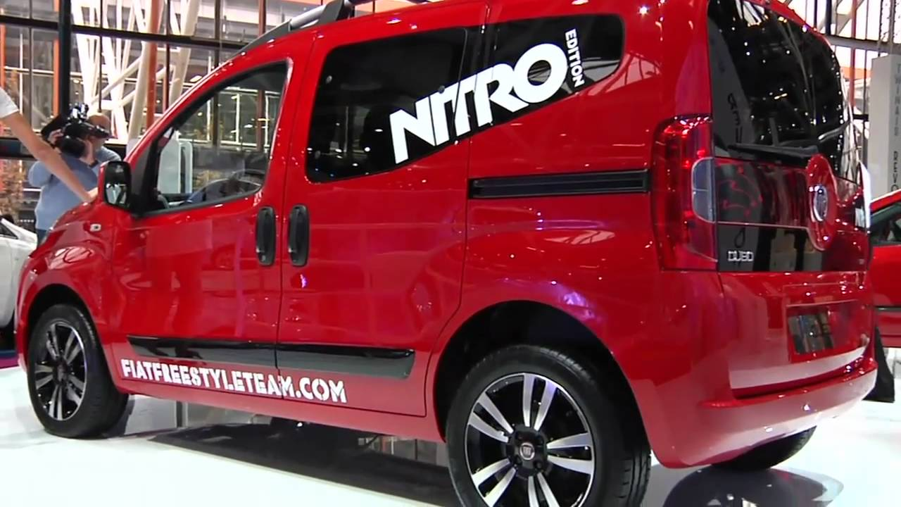 fiat motor show di bologna focus su fiat qubo nitro. Black Bedroom Furniture Sets. Home Design Ideas