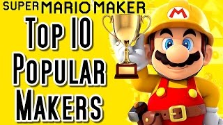Super Mario Maker Top 10 MOST POPULAR CREATOR Courses (Wii U)