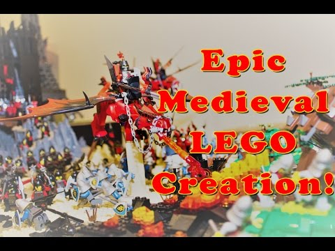 EPIC Medieval LEGO Creation-  by Damian Hinds