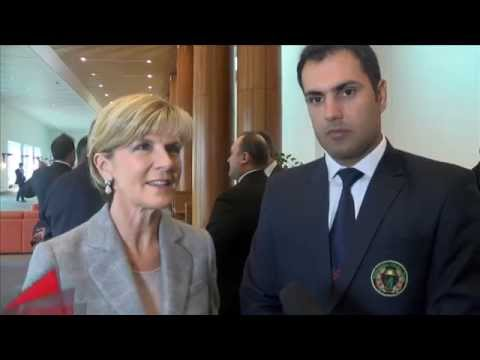 Afghanistan meets Australian Minister for Foreign Affairs