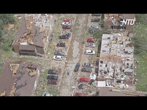 Жертвами торнадо в