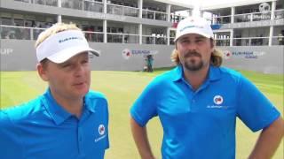 EurAsia Cup (T2) : Les réactions de Kjeldsen et Dubuisson