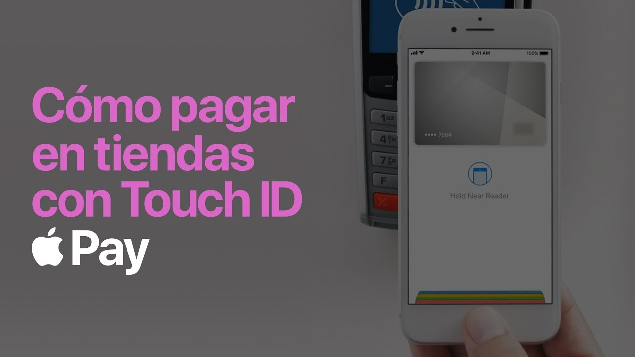 how to pay with iphone touch id