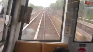Washington DC Metro Ride lead  car Ft Totten - Takoma