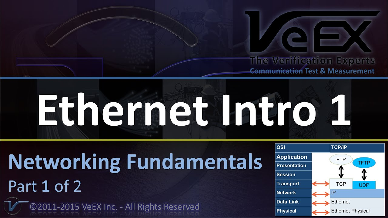 Ethernet networking fundamentals part 1 of 2 youtube baditri Images