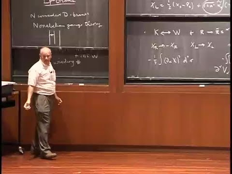 Some Basic Superstring Theory, John Schwarz | Lecture 1 of 2