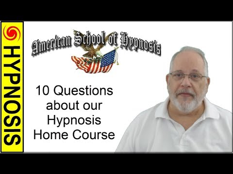 Hypnosis Home Study Course Q&A