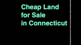 Cheap Land for Sale in Connecticut- 1 Acre in Hartford, CT 06101