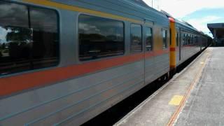 [HD] The Taiwan TRA down T.C. Ltd Exp DMU Train DR3000 train no. 2051 depart Taitung Station