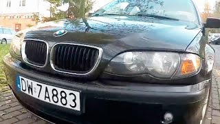 Авто в Польше, обзор купленного BMW 3 318 из Германии