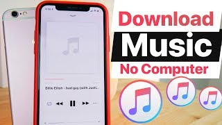 How To Download Music On iPHONE Without Computer! iOS 13 (No Jailbreak)