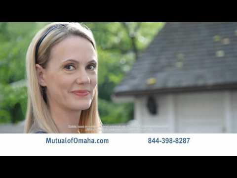 """Mutual of Omaha Term Life Insurance: """"Insure What's Irreplaceable"""""""