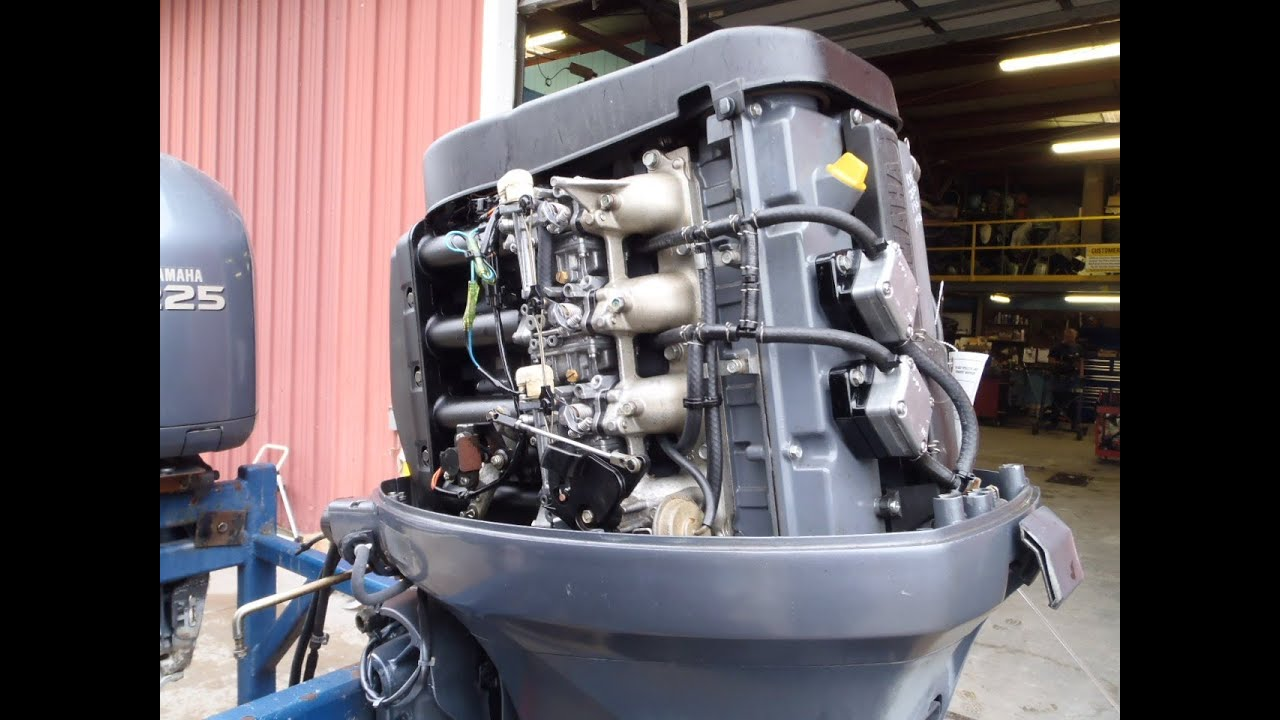 Used 2000 Yamaha F80 4-Stroke Outboard Boat Motor Engine ...