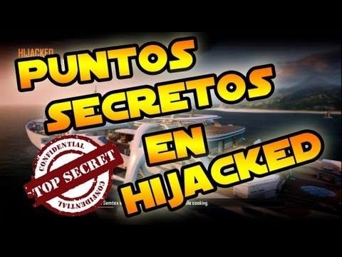 Black Ops 2: Puntos Secretos en Hijacked [1080p]
