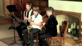 Two sax trios: Shadows of The Night, Greensleeves