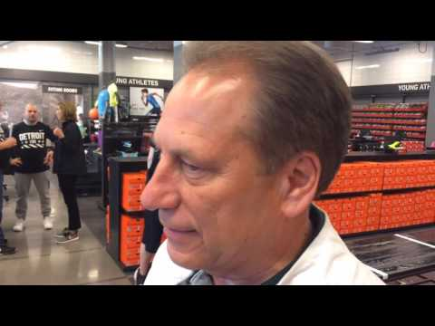 Tom Izzo discusses partnership with Nike