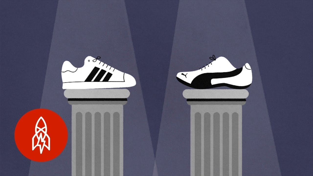 The Sibling Rivalry Behind Adidas Versus Puma - YouTube 57b9204fc
