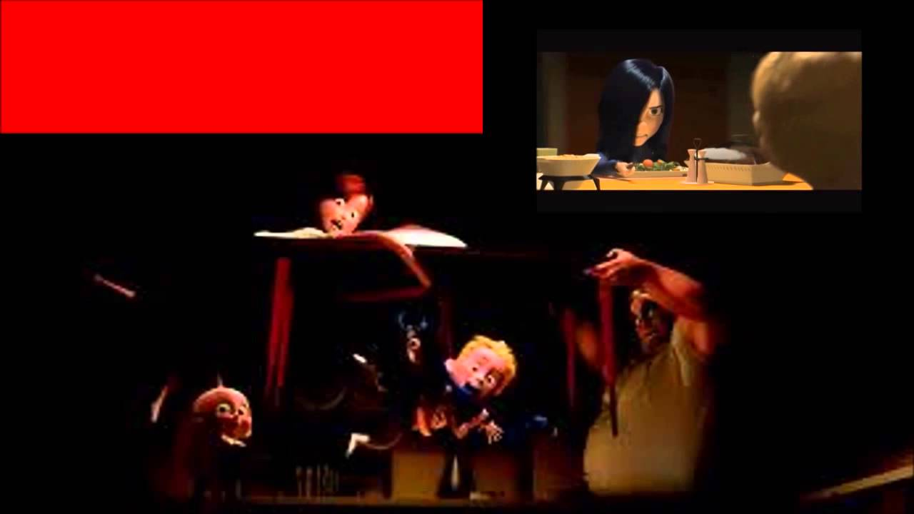 Dinner Scene - The Incredibles - Collab with Christi J ...
