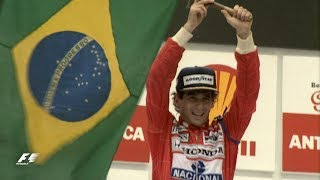 Senna's Emotional Home Win | 1991 Brazil Grand Prix