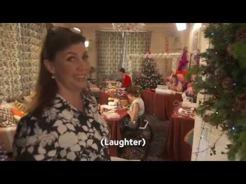 Behind the s with Kirstie Allsopp on the set of Handmade Christmas
