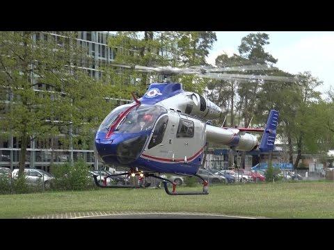 Air Rescue 3 Luxembourg Air Rescue startet an Uniklinik Bonn am 03.05.17