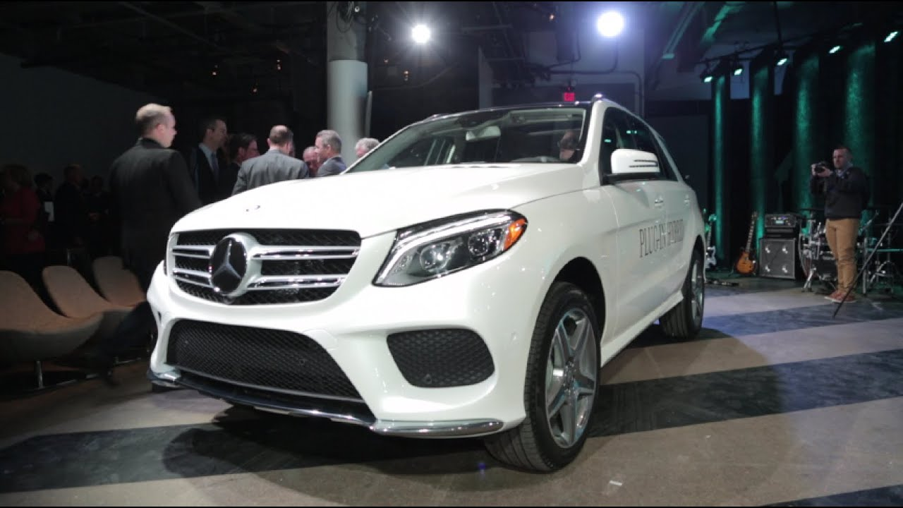 2016 mercedes benz gle550e plug in hybrid 2015 new york auto show youtube. Black Bedroom Furniture Sets. Home Design Ideas