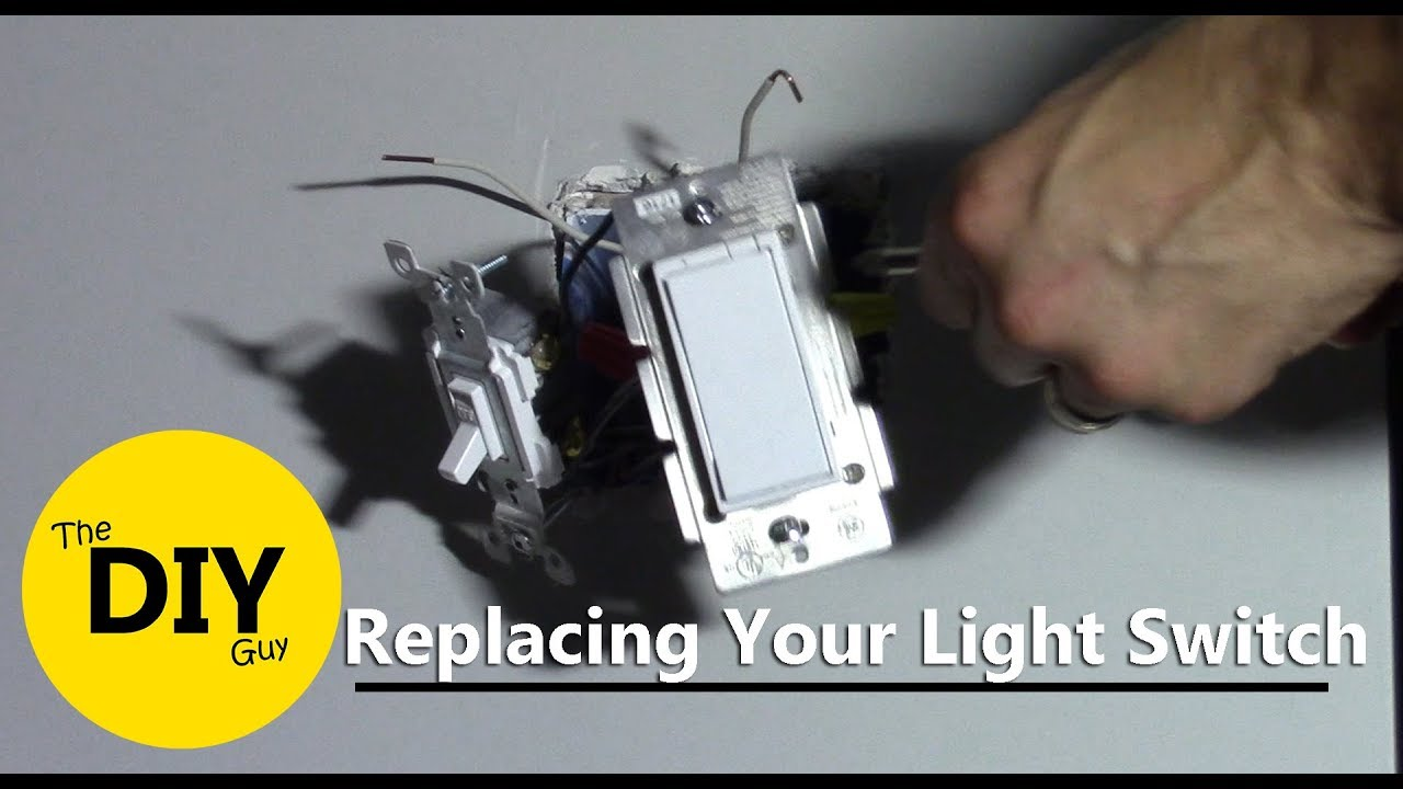 How to Replace Light Switch with Z-Wave Dimmer. GE 12724 - YouTube