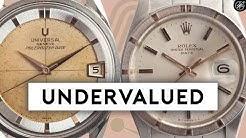 4 UNDERVALUED Watches from Top Watch Brands: Rolex, Audemars Piguet, & More