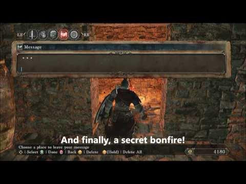 Dark Souls 2 - Earthen Peak (Loot and Illusory Walls)