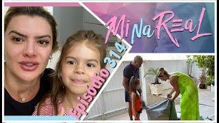 MiNa ReAl l Organizando o jardim da vovó Alba com Xalana e Valentina !