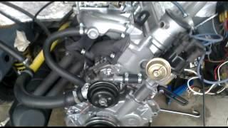 Nový motor Škoda 742.136 prvý štart